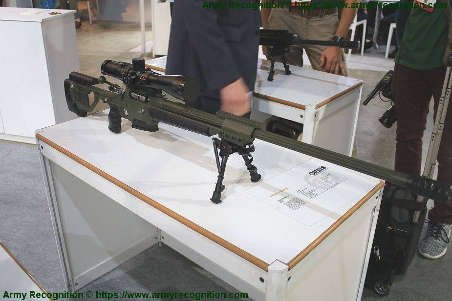 Orsis from Russia showcases its full range of sniper rifles T 5000 M ISDEF 2019 Israel 925 001