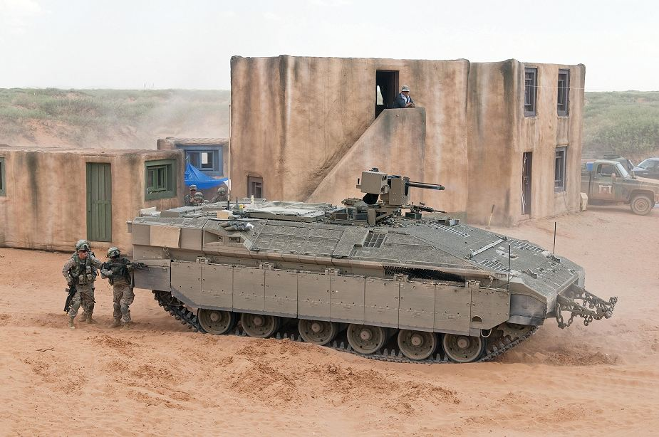 Namer APC infantry tracked armoured vehicle personnel carrier Israeli Army Israel defense industry 925 001