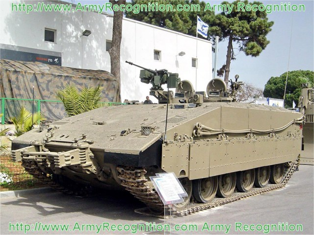 Israel has offered the procurement of Merkava Mark IV tanks and Merkava Namer APCs to Colombia. During initial discussions with Colombia, a possible procurement of 25 to 40 tanks were discussed.