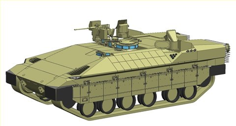 Namer armoured vehicle infantry personnel carrier Israeli army Israel pictures technical data sheet speciifications description identification defence industry military technology