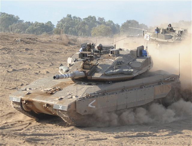 Armes de fabrication Israelienne - Page 18 Merkava_4_main_battle_tank_with_Trophy_ASPRO-A_active_protection_system_Israel_Israeli_army_defence_industry_004