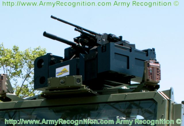 DRWS dual remote weapon station Elbit Systems technical data sheet information specification description identification intelligence pictures photos images engineering Israel Israeli