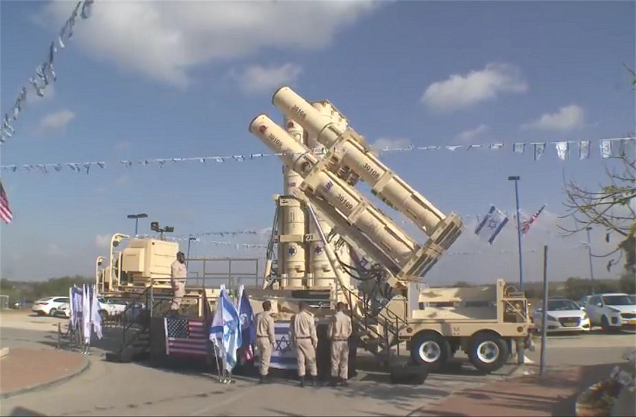Arrow 3 long range anti ballistic air defense missile system Israel Israeli army defense forces military equipment 925 001