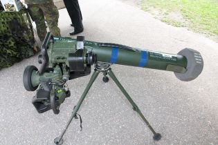 Spike MR Precision ant tank Guided Missile System for Infantry Israel defense  industry wikimedia left side view 001