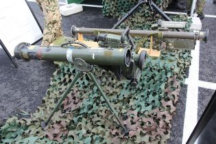 Spike MR Precision ant tank Guided Missile System for Infantry Israel defense  industry wikimedia right side view 001