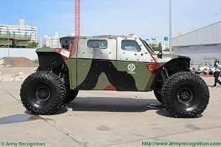 CombatGuard 4x4 combat armoured vehicle personnel carrier Israel Israeli army military right side view 002