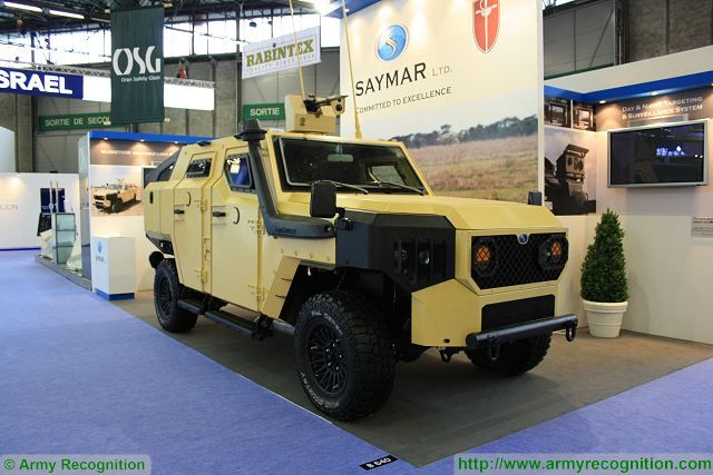 According Janes defense news website, The Israeli-made Saymar Musketeer 4x4 light armoured vehicle is now in service with the Cameroon's Presidential Guard. Israel is one of a range of smaller suppliers of major weapons and other military equipment to sub-Saharan Africa.
