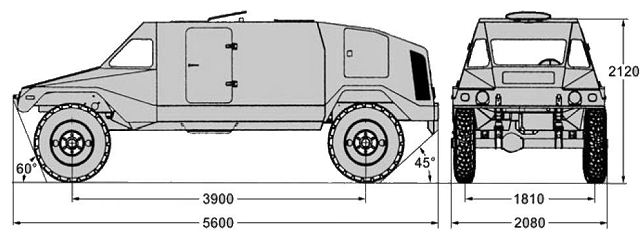 RAM Mk3 MK III AT Nimrod anti-tank missile data sheet specifications information description pictures photos images intelligence identification intelligence Israel Israeli weapon industries army defence industry military technology wheeled armoured vehicle