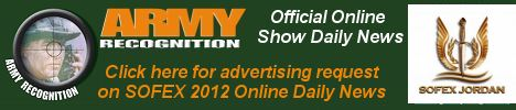 Your advertising on Army Recognition online daily news SOFEX 2012, for request Click here