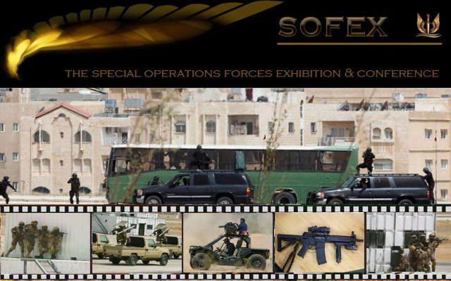 SOFEX 2014 pictures photos video images television Web TV Special Operations Forces Exhibition Conference Jordan  army land forces Jordanian defence industry military technology