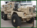 The Royal Jordanian Army Special Operations Command is exhibiting at SOFEX 2014 one of its MRAP vehicles acquired as excessive material from the US and entered into service in 2013.