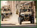At SOFEX 2014, the Special Operations Forces Exhibition & Conference which will be held in Amman (Jordan) from the 6 to 8 May 2014, Polaris Defense will show the MRZR 4 and MV850 light all-terrain vehicle with TerrainArmor tires.