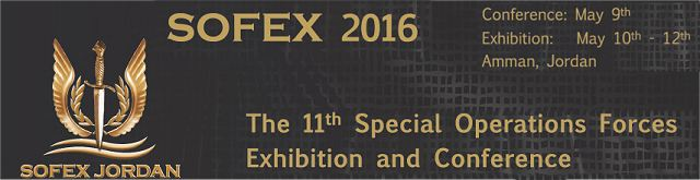 SOFEX 2016 International Special Forces Operations Amman Jordan exhibition conference banner 640 001