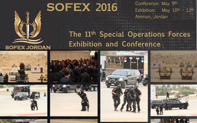 SOFEX 2016 Official Web TV Television pictures photos video images Special Operations Forces Exhibition Conference Jordan army land forces Jordanian defence industry military technology
