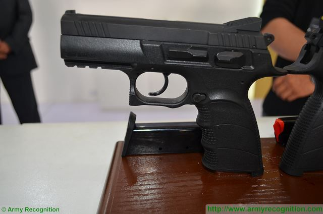 In the field of small weapons , JAWS (Jordan Armament & Weapon Systems) a subdivision of KADDB unveils its new semi-automatic pistol JTP-9 chambered in 9x19mm. This new pistol is fully designed and manufactured in Jordan. Built from highest quality materials and tested in harshest conditions.