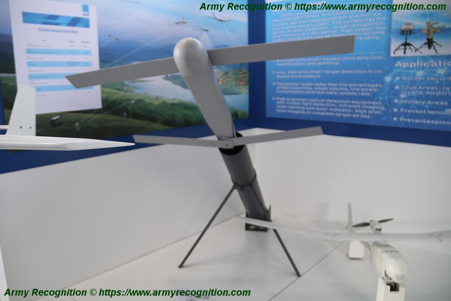 China defense industry presents CH 901 suicide drone at SOFEX 2018 925 001