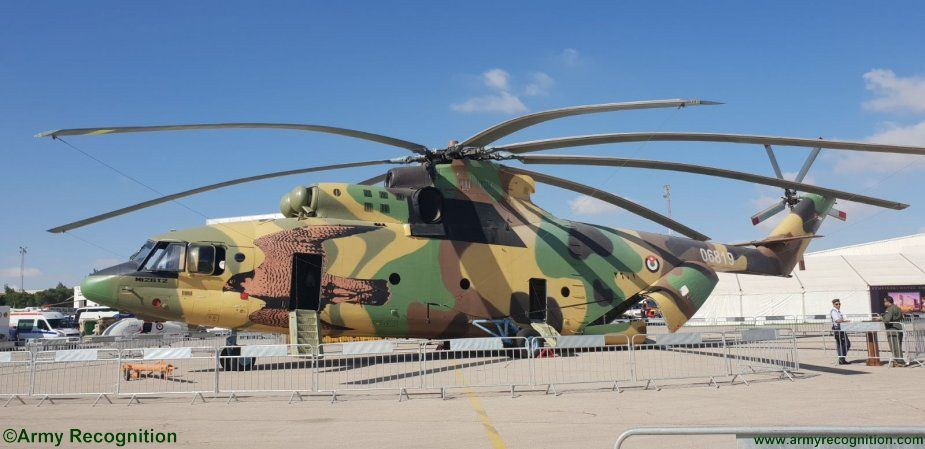 Maletín Estación de ferrocarril Jugar con  SOFEX 2018: RJAF's Mi-26T2 heavy-lift helicopter makes first public  appearance | SOFEX 2018 Official Online Show Daily News | Defence security  military exhibition 2018 daily news category