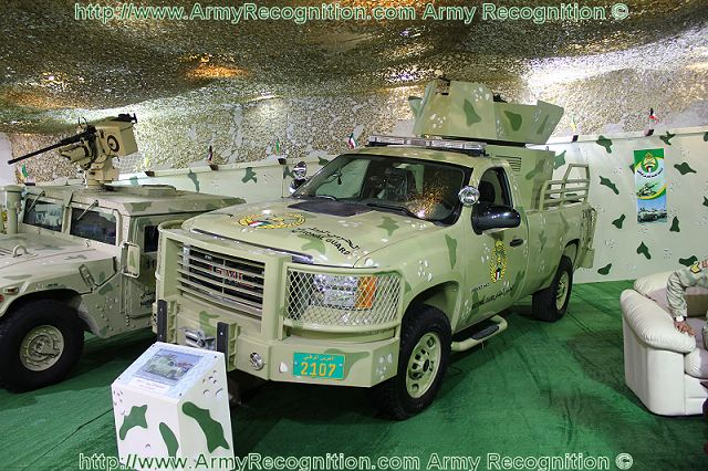 Soor-1 Light Patrol Vehicle Kuwaiti National Guard at GDA 2011