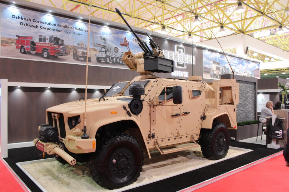 Oshkosh Defense Jltv >> Oshkosh Defense Displays Its Jltv At Gda 2017 Gda 2017