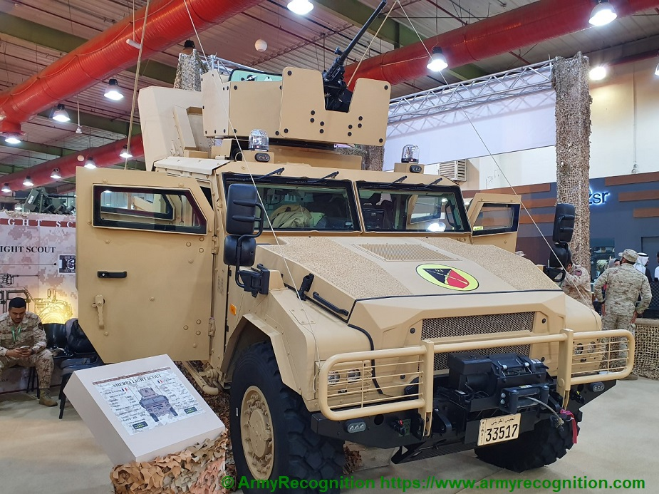 GDA 2019 Kuwait displays its Sherpa vehicles 01