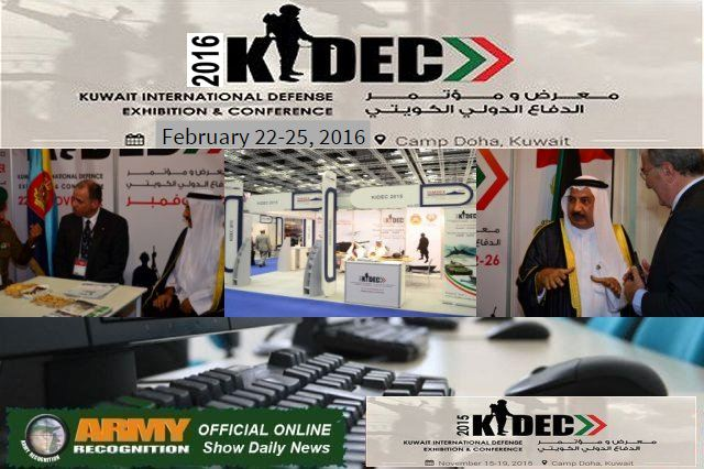 KIDEC 2015 organizers appointed Army Recognition as Official Online Show Daily News and Web TV 640 001