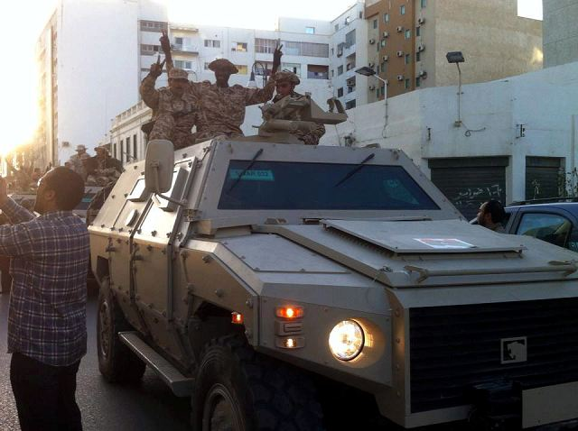 Libya has taken delivery of 49 armoured support vehicles from Jordan. Some 120 of the UAE-designed and built NIMRs, in two variants, have already been in service with the Libyan army, reports Libya Herald.