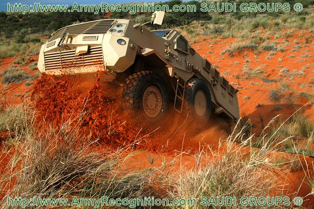 Al-Masmak Masmak Nyoka Mk2 MRAP Mine Resistant Armored Personnel Carrier technical data sheet specifications pictures photos images intelligence Saudi Arabia Arabian Defence Industry Military technology army