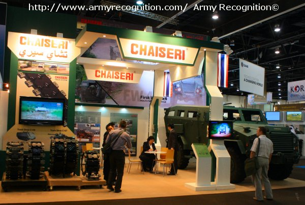 "Chaiseri Defence Vehicle, first time exhibitor at IDEX, presents their ""First Win 4x4"" Multi Purpose Vehicle on stand 02-A42."