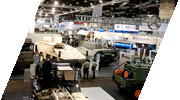100's of local and international defence manufacturers and contractors will fill over 35,000sqm of exhibition space running through the 12 exhibition halls, the concourse and the atrium.