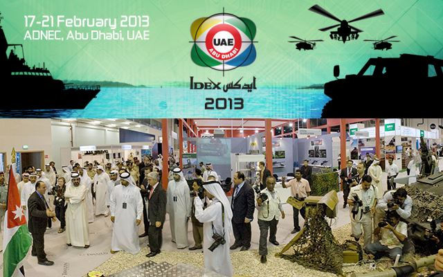 IDEX NAVDEX 2013 pictures photos images video International Defence Naval Maritime Exhibition Abu Dhabi United Arab Emirates February