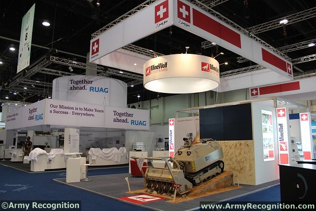 Exhibition Booth Rental Abu Dhabi : Minewolf systems launches smallest platform for ied and