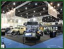 Renault Trucks Defense and its new subsidiaries Acmat and Panhard develops and manufactures a full range of armored, tactical and logistic vehicles. The three brands exhibit at IDEX 2013, a part of its range of wheeled armoured and law enforcement vehicles.
