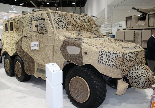 NIMR Automotive HAFEET APC displayed at IDEX 2015 640 001