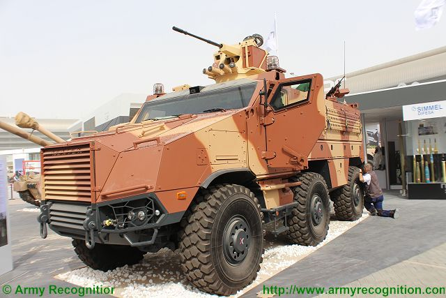 Titus Nexter Tactical Infantry Transport and Utility System IDEX 2015 defense exhibition Abu Dhabi UAE 640 001