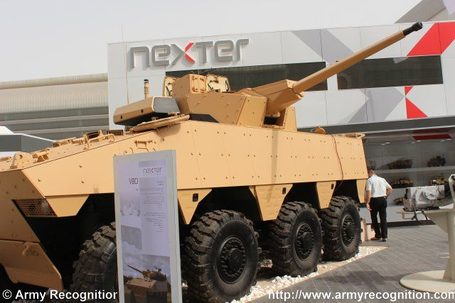 During the IDEX exhibition, from February 22 to 26, Nexter will unveil for the first time a VBCI IFV fitted with the T40 turret on its booth (CP 240/260). This turret is equipped with the 40CTAS, a revolutionary 40mm cannon developed by CTA International and recently qualified and selected by the French Army for its future JAGUAR recce vehicle and by the British Army for its Scout programme.