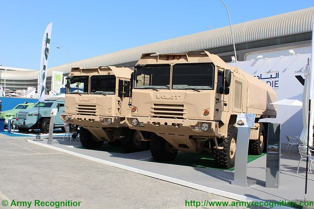 Volat trucks belarus IDEX 2015 defense exhibtion Abu Dhabi UAE 640 001