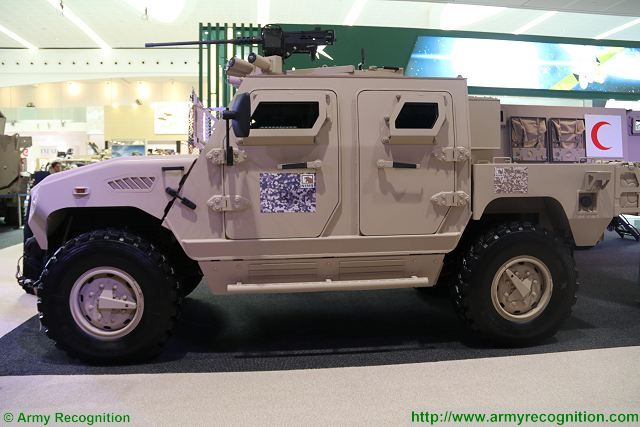 The Ajban 440A Tactical Patrol Vehicle is a light protected vehicle offering ballistic and mine protection using latest technologies of armour.