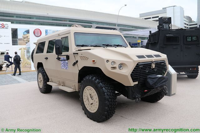 Another new product showed at IDEX 2017 by NIMR Automotive is the Ajban VIP based on the on the highly successful AJBAN series. Designed with discrete blast and ballistic protection, to make the vehicle indistinguishable from the AJBAN soft-skin vehicle range, the vehicle can seamlessly blend with support vehicles during convoy movements.
