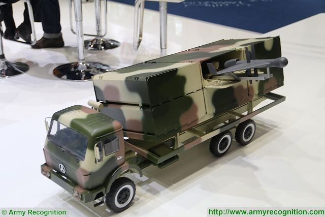 Defense Industry of China unveils ASN 301 anti radiation UAS Unmanned Aerial System at IDEX 640 001