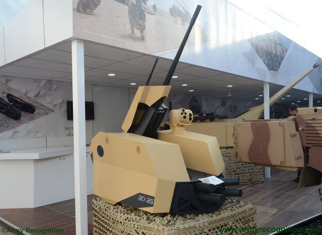 IDEX 2017 Nexter spotlights latest generation of unmanned turrets and medium caliber system 640 001