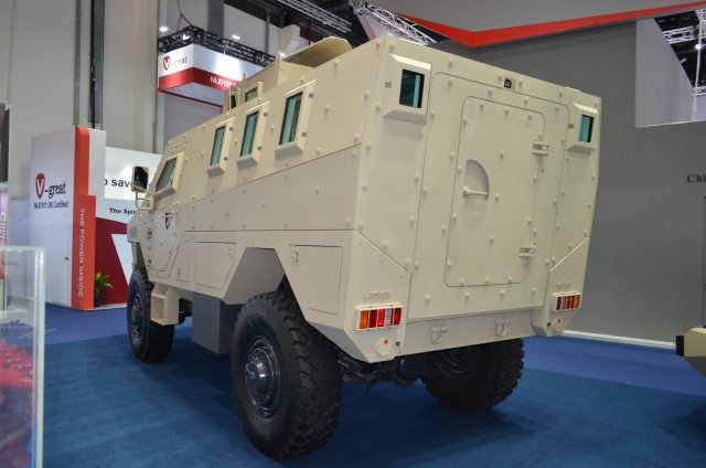 ISOTREX Manufacturing showcases for the first time its brand new LEGION MRAP 004