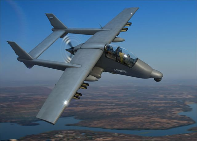 New Mwari SMART reconnaissance and precision strike aircraft from Paramount Group at IDEX 2017 640 001