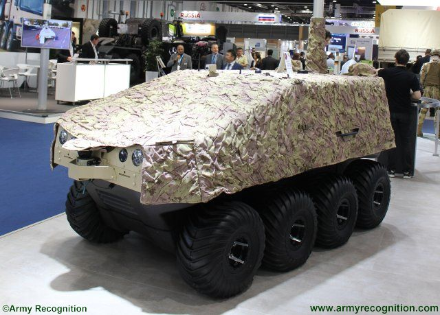 Rheinmetall new multi mission UGV 640 002