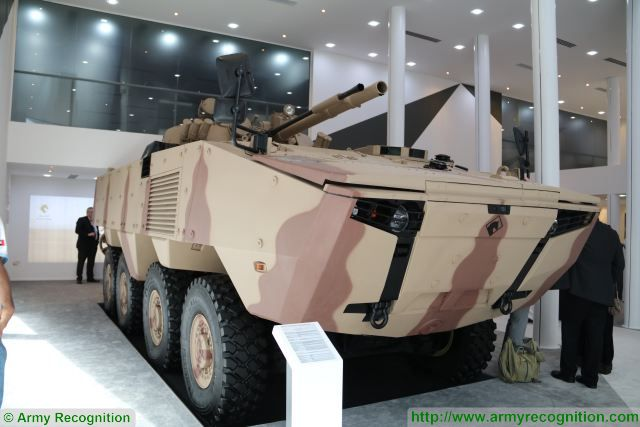 Turkey and UAE develop Rabdan new 8x8 armoured vehicle for United Arab Emirates army IDEX 2017 640 001