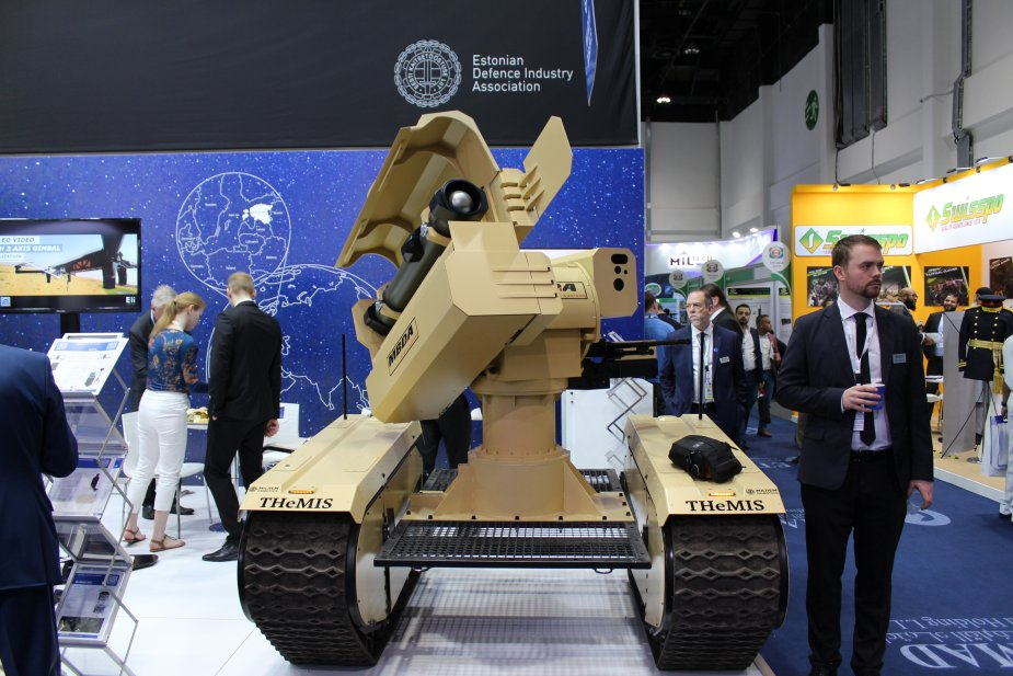 IDEX_2019_MBDA_and_MILREM_Robotics_unvei