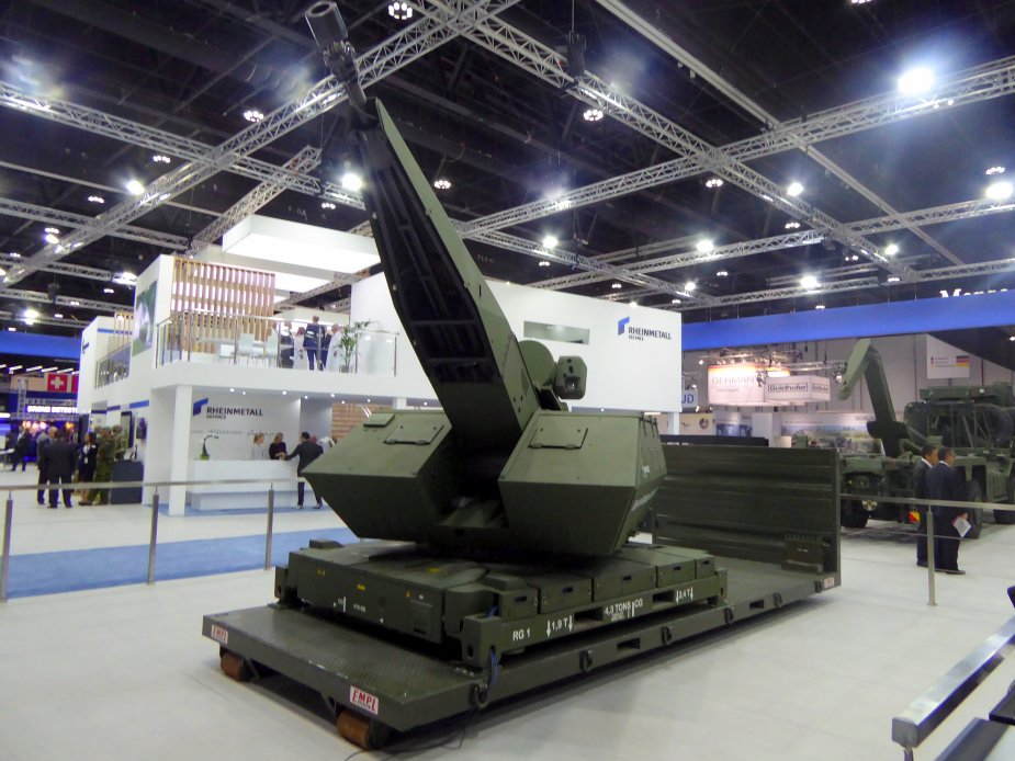 IDEX 2019 Rheinmetall Air Defence comprehensive next generation air defence solutions