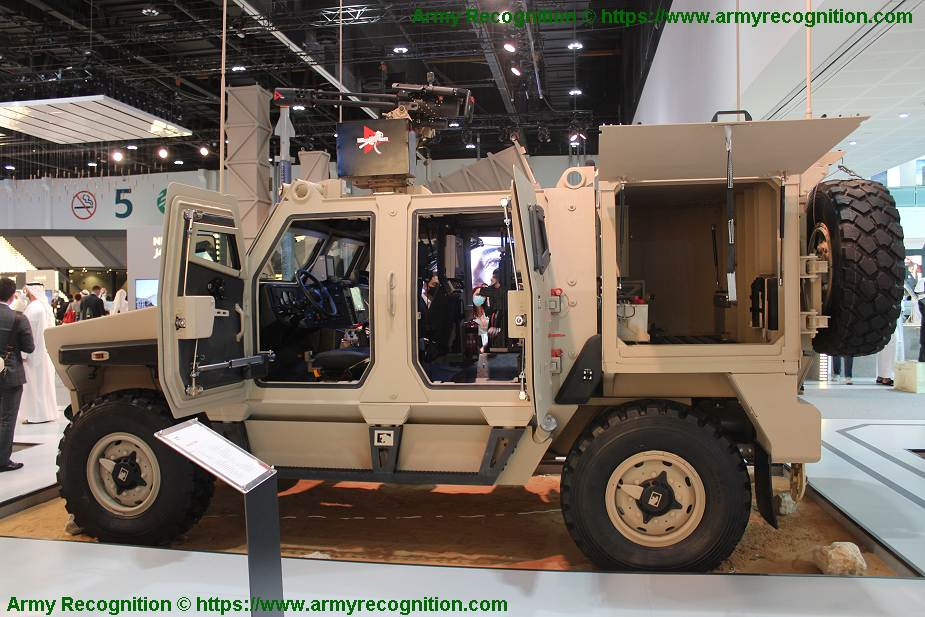 NIMR Ajban Mk 2 new generation of UAE made 4x4 wheeled armored vehicle IDEX 2021 925 002