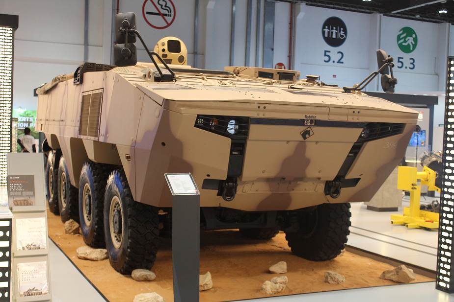 https://www.armyrecognition.com/images/stories/middle_east/united_arab_emirates/defence_exhibition/idex_2021/pictures/UAE-made_Rabdan_8x8_armored_vehicle_armed_with_laser_weapon_system_IDEX_2021_925_001.jpg