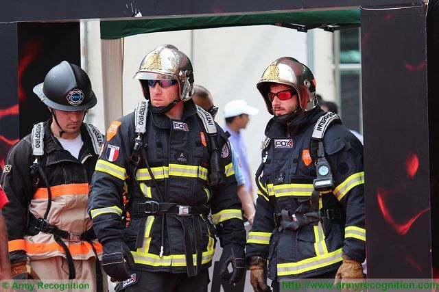 French firefighters from Strasbourg at the UAE World Firefighter Challenge during ISNR 2016 640 001
