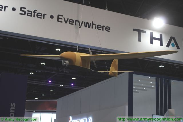 Thales Spy Ranger latest-generation surveillance and reconnaissance mini-drone at ISNR 2016 640 001